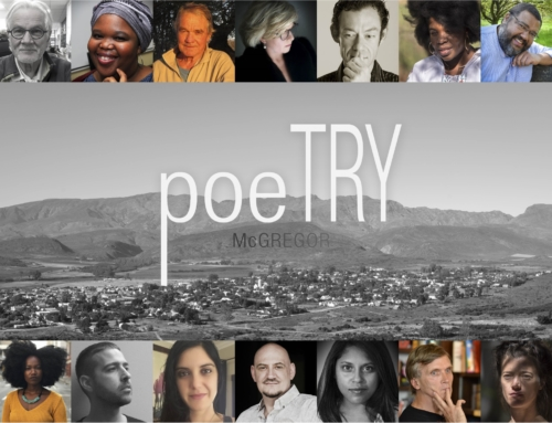 Poetry in McGregor Festival 24 to 26 August2018, McGregor.
