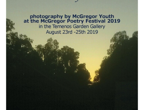 Photography by McGregor Youth at the McGregor Poetry Festival 2019